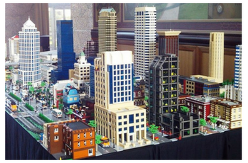 Lego Architecture - Ricardo MontoyaRicardo will create a section of the IDL that highlights most of Tulsa's skyscrapers. The Tulsa Foundation for Architecture will house the model, with the goal to develop an ongoing partnership with Tulsa Public Schools students to build extensions of the the model over time.