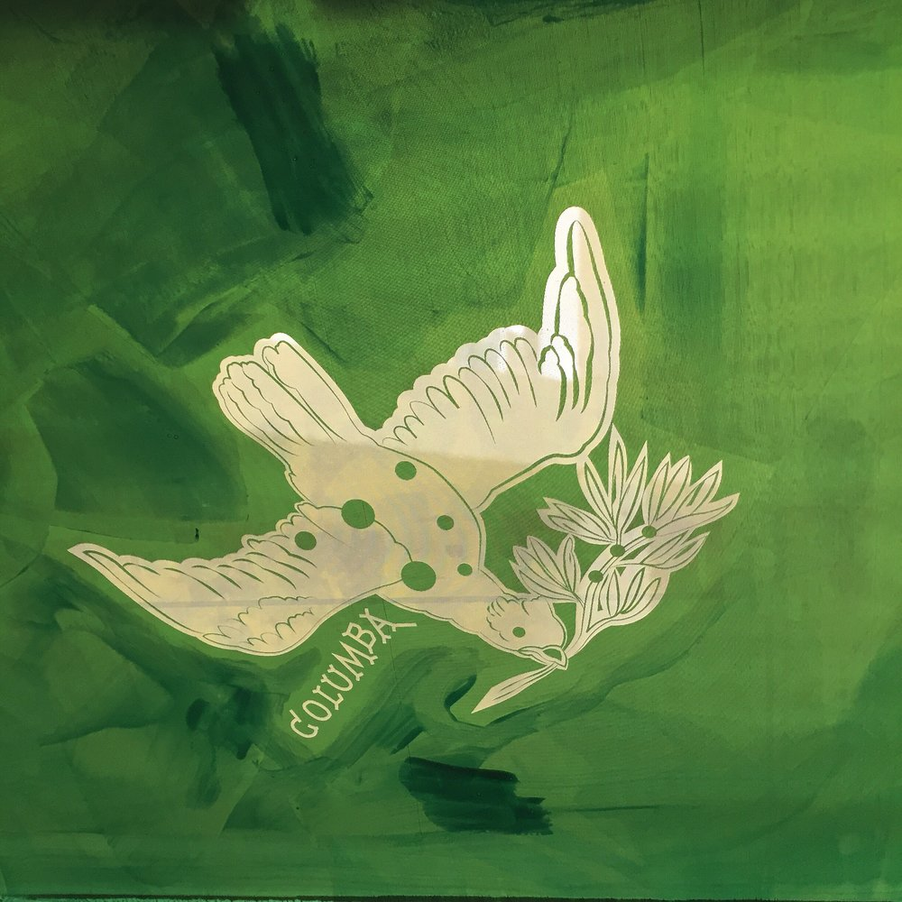 "PEACE DOVE ""COLUMBA CONSTELLATION"" SCREEN"