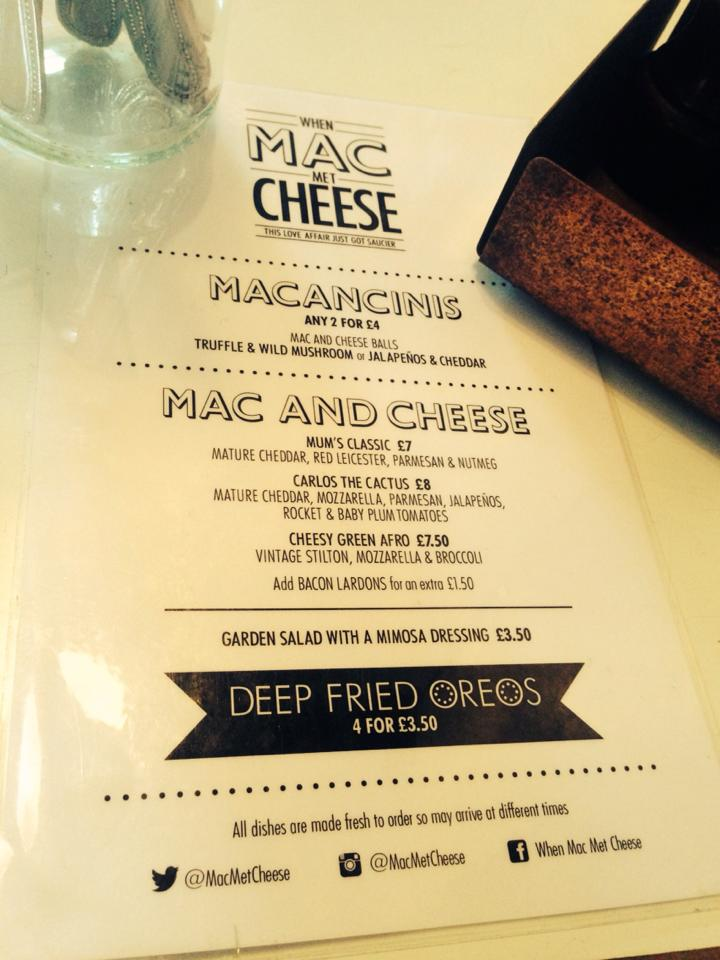 When Mac Met Cheese