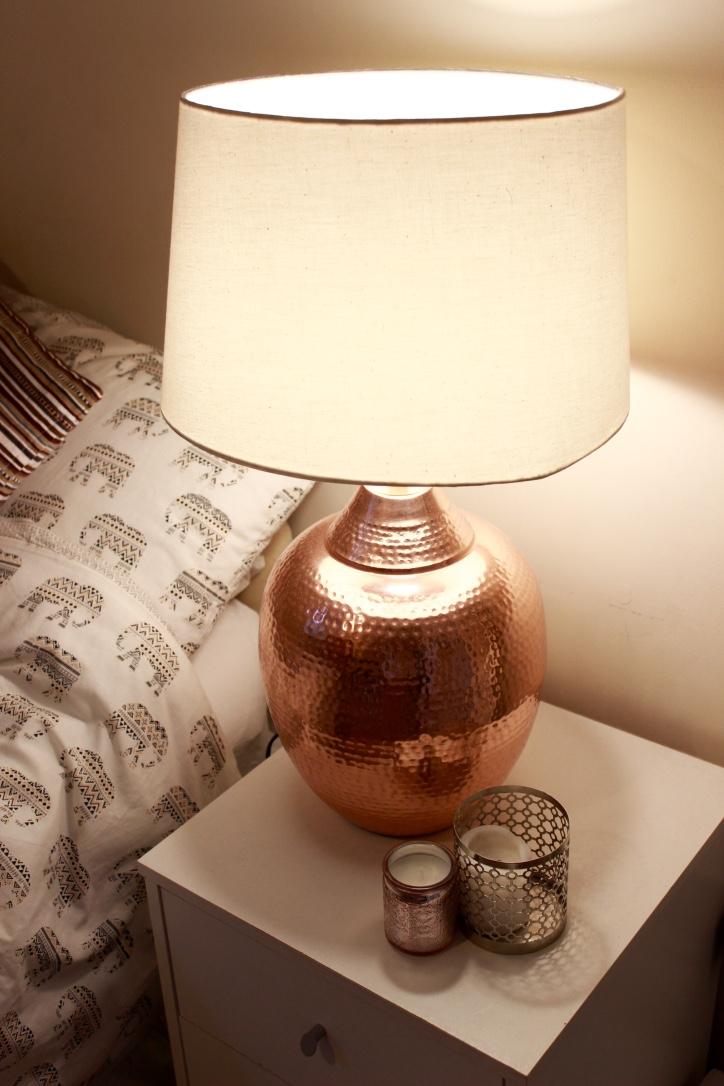 Home Sense Rose Gold Lamp