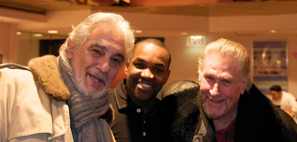 Placido Domingo and Sherrill Milnes