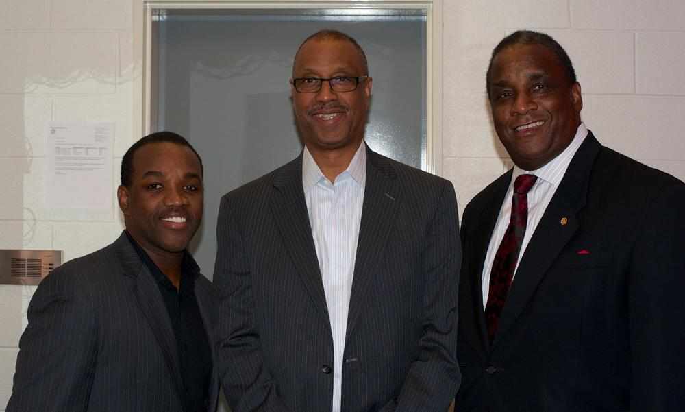 Randy Bates, Grand Polemarch of Kappa Alpha Psi, and Elder Watson Diggs Laureate