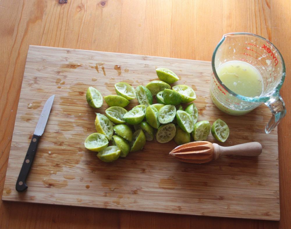 Juiced Key Limes