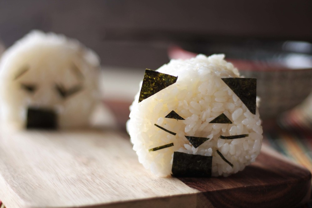 Sweet Potato Onigiri
