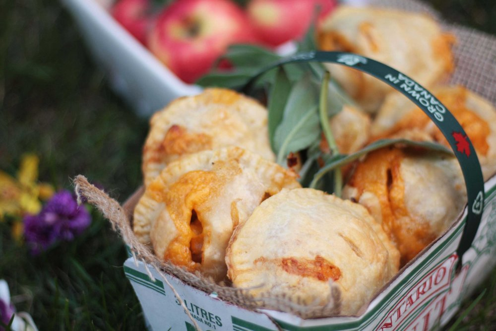 Apple and Cheddar Hand Pies