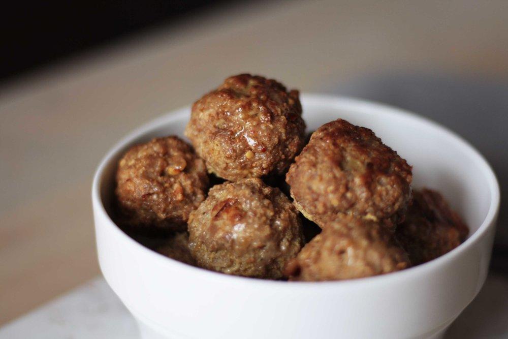 Extra Lean Ground Pork Meatballs