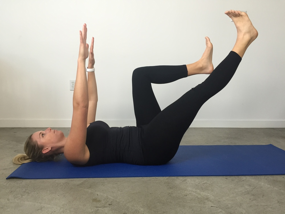 Opposite arm and leg extensions