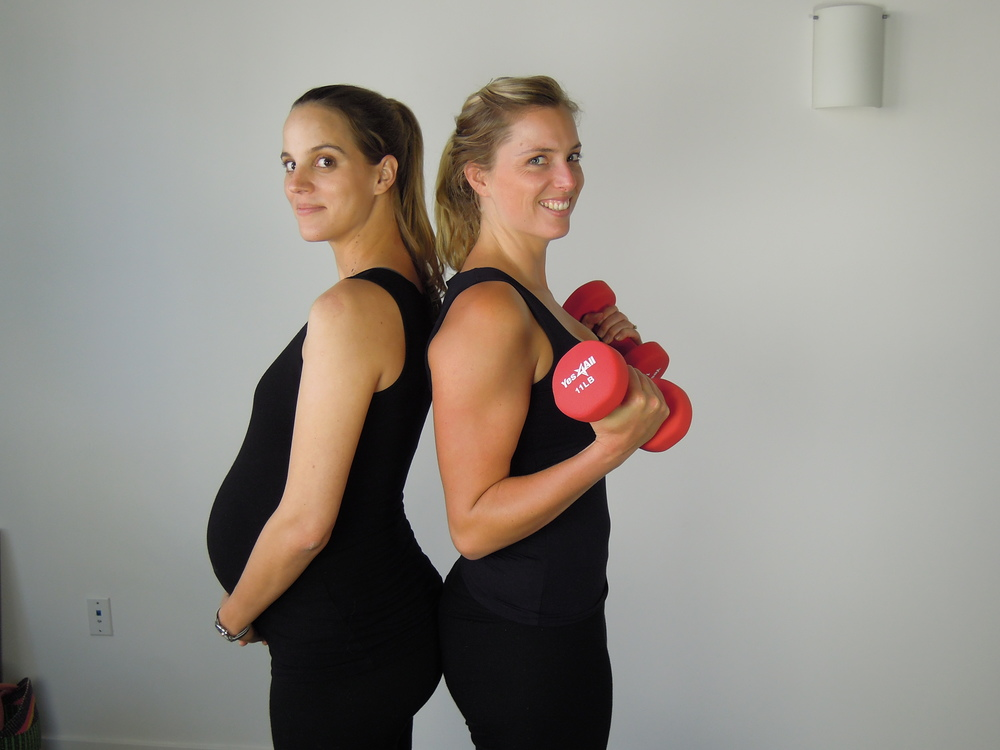 Thank you to my beautiful friend Julia, 38 weeks pregnant, for helping me capture these exercises.