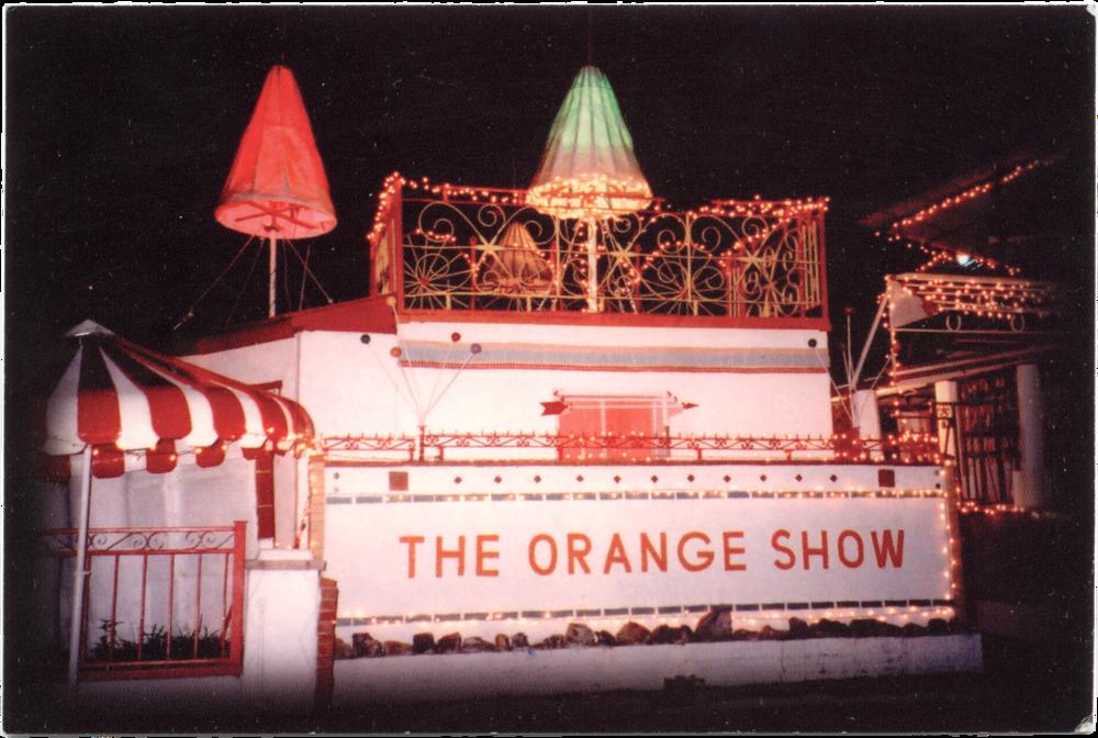 The Orange Show Center for Visionary Art Houston, Texas