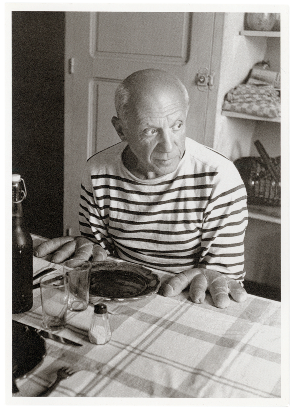 Picasso and the Loaves , Robert Doisneau, 1952 Aix-en-Provence, France