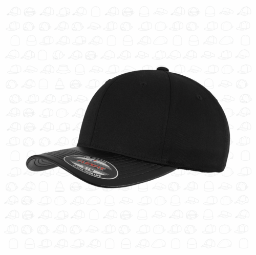bf79ccd00fb4e Yupoong Flexfit Leather Peak Fitted Cap by London Snapbacks.png