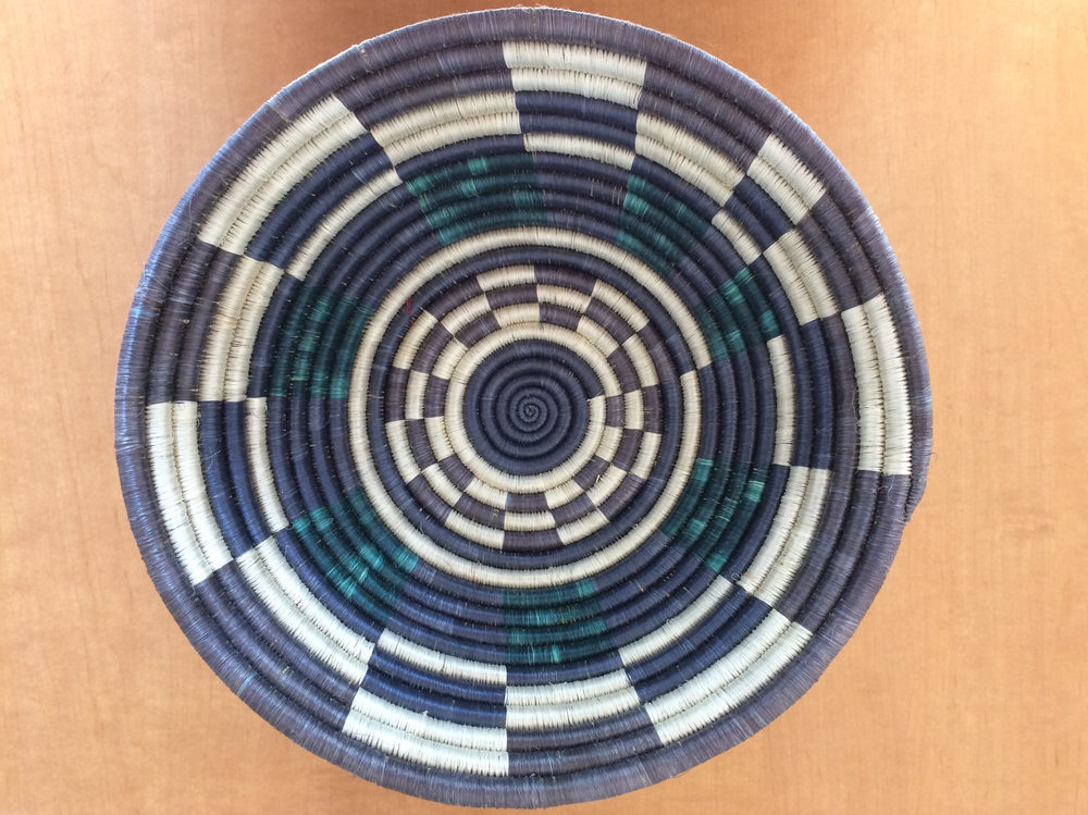 New basket for the wall in the future home of Kate Jackson