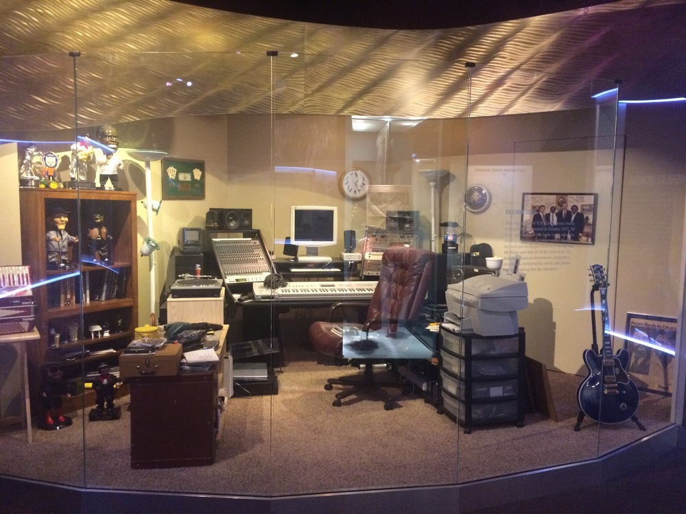 B.B. King's home studio