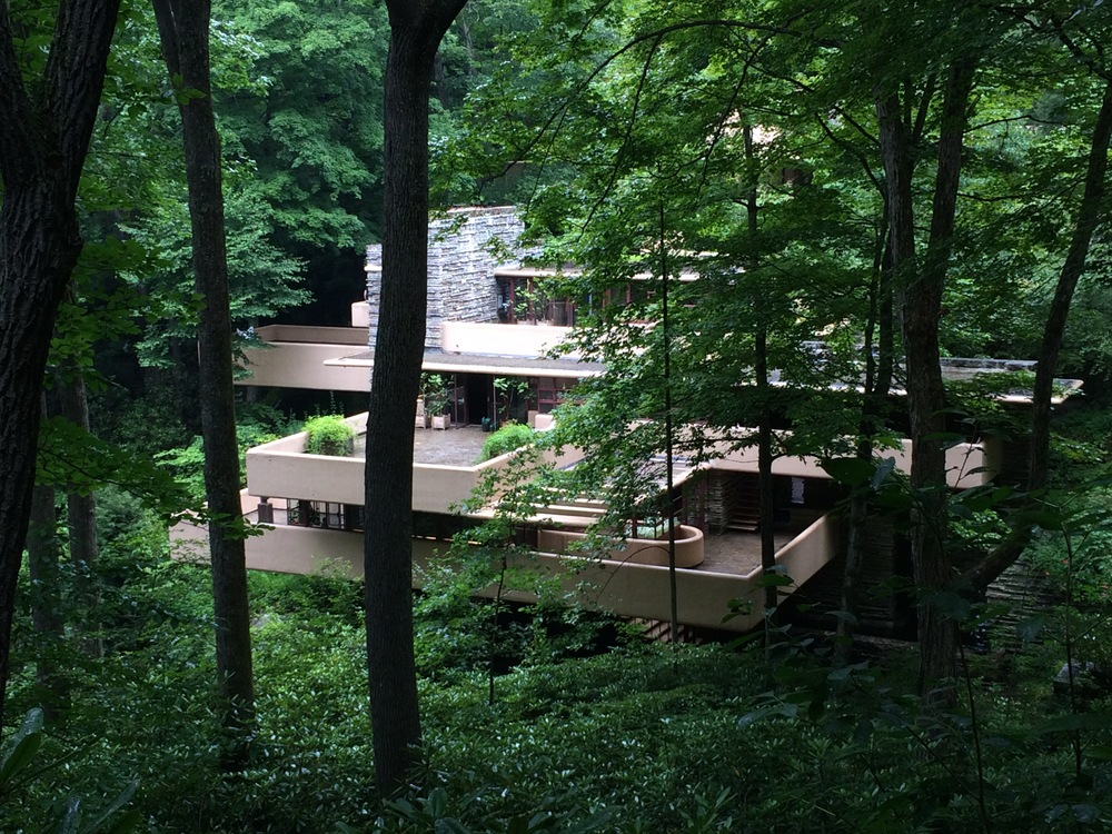 Another view of Falling Water