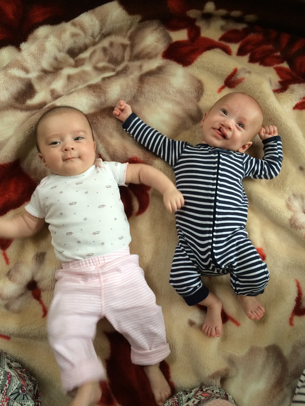 This is Hadley (left) and Parker (right), the (not so much anymore) brand new twins of Erika and Nate.  It was really pretty incredible to be able to meet them at such a young age and see them as tiny babies.  I'm sure I'll obnoxiously remind them of this as they get older.
