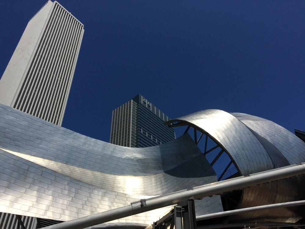 Frank Gehry's Jay Pritzker Pavilion - Millenium Park, Chicago