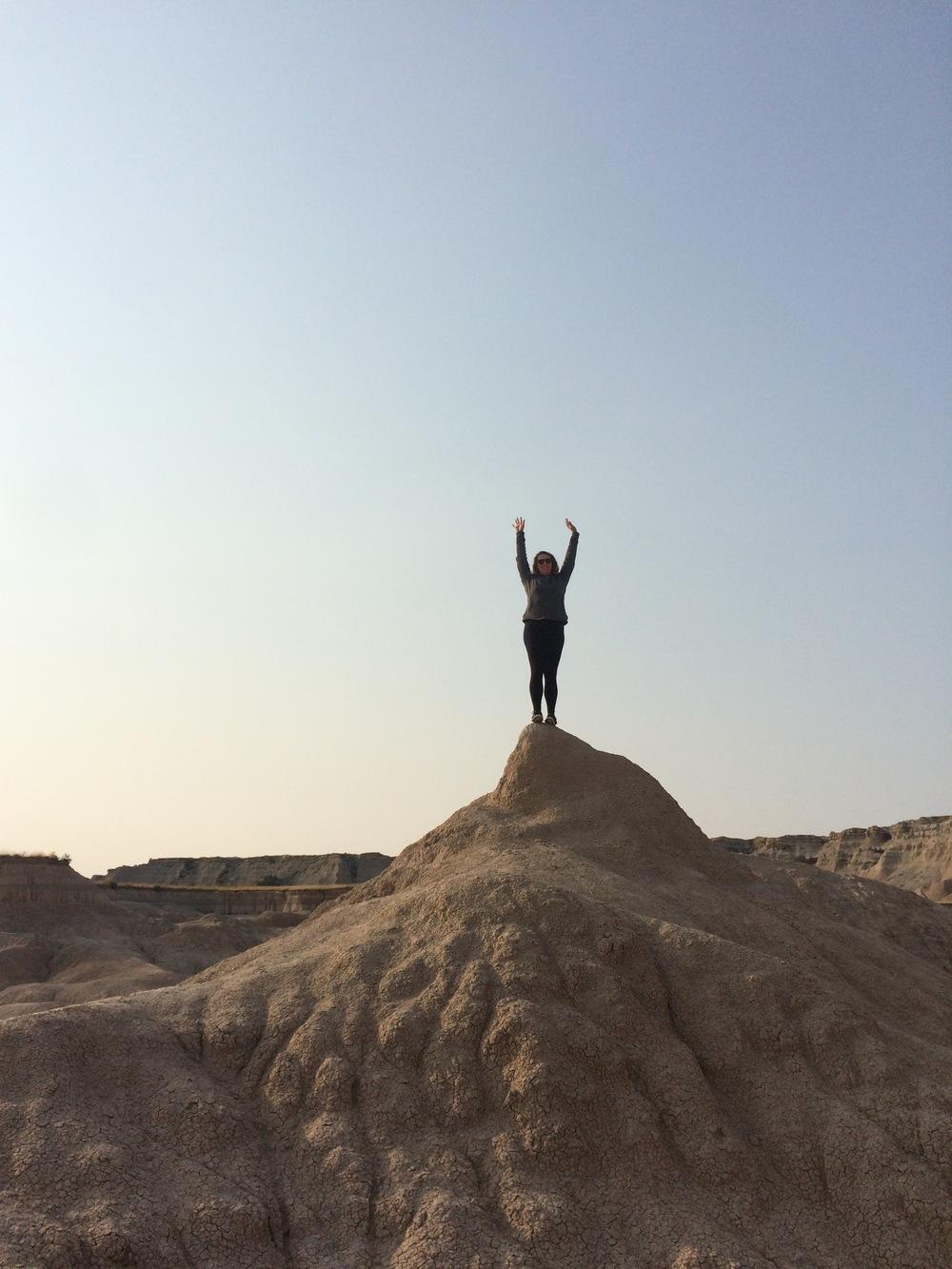 Climbin' rocks
