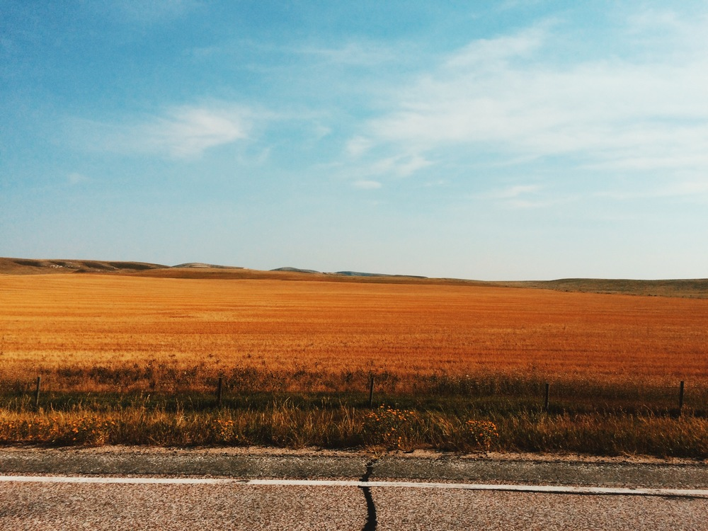 The golden road to Wyoming