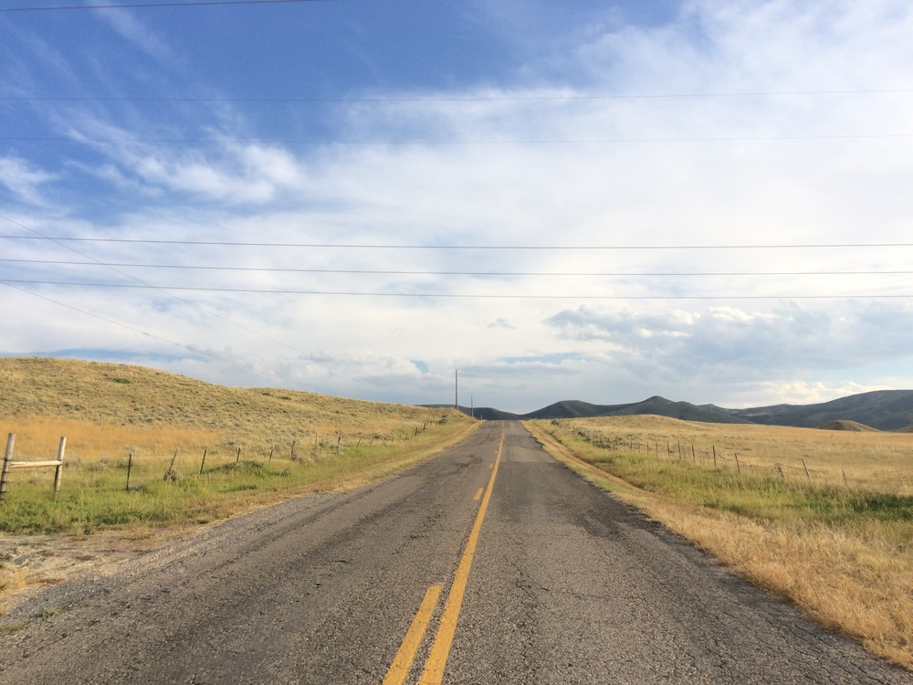 Roads of Wyoming, number 4 in a series of 17,965