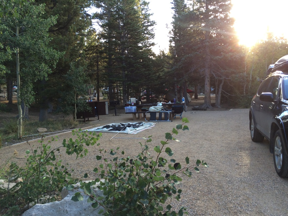 Rainbow Lakes Campground