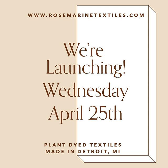 I'm launching my new business @rosemarinetextiles this Wednesday and I'm so excited about it!!! If you love naturally dyed textiles you will love it 💗thank you so much to everyone who has helped me birth this business baby!!! Specifically @savannahunterreeves & @anchorandorbit @goldeluxejewelry @emilyaholden and so many more!!!