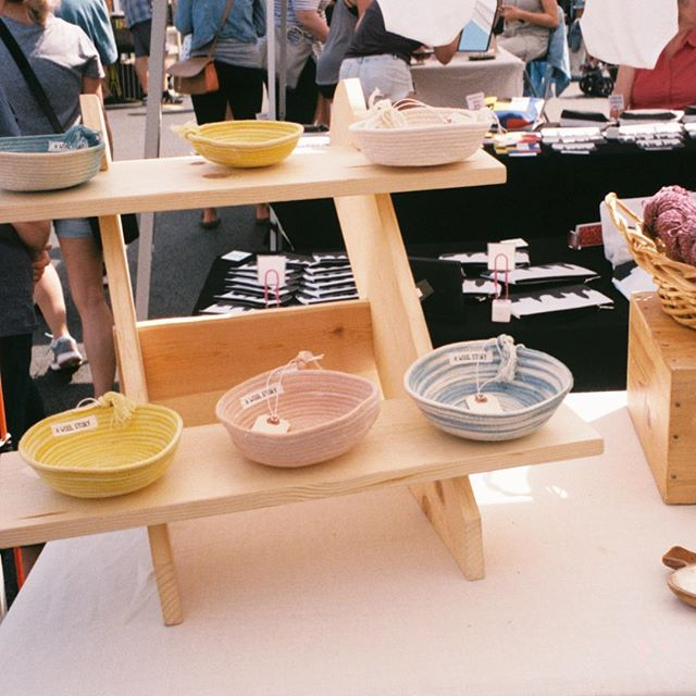 rope bowls on #35mm 🌟 from last summer in Cleveland @clevelandflea