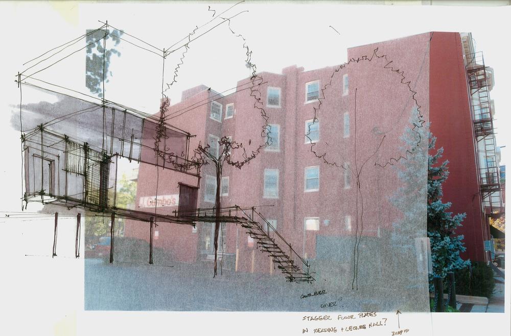 Courtyard Entry Development