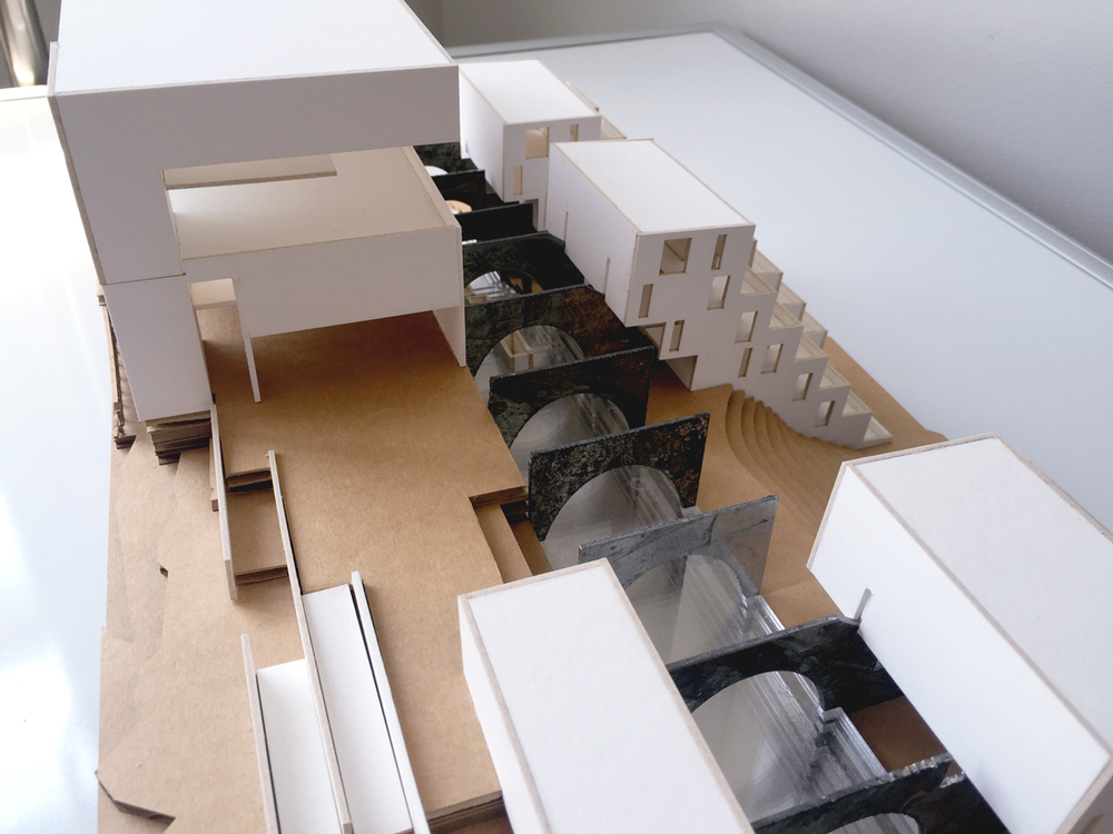 Physical Model - Plaza