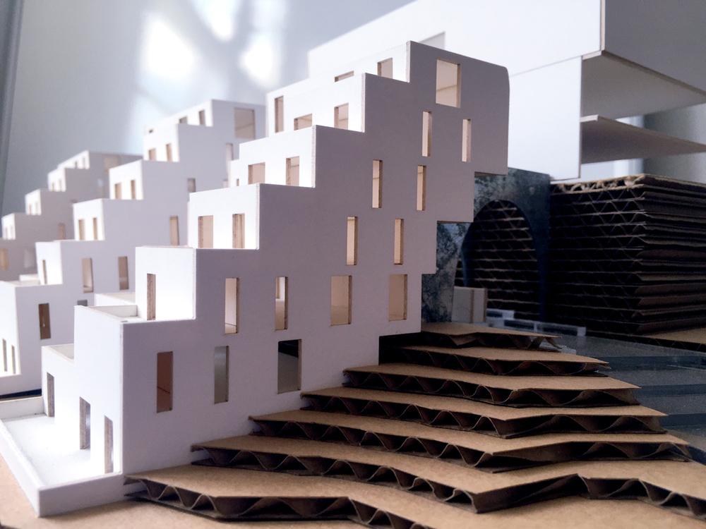 Physical Model - Housing Block