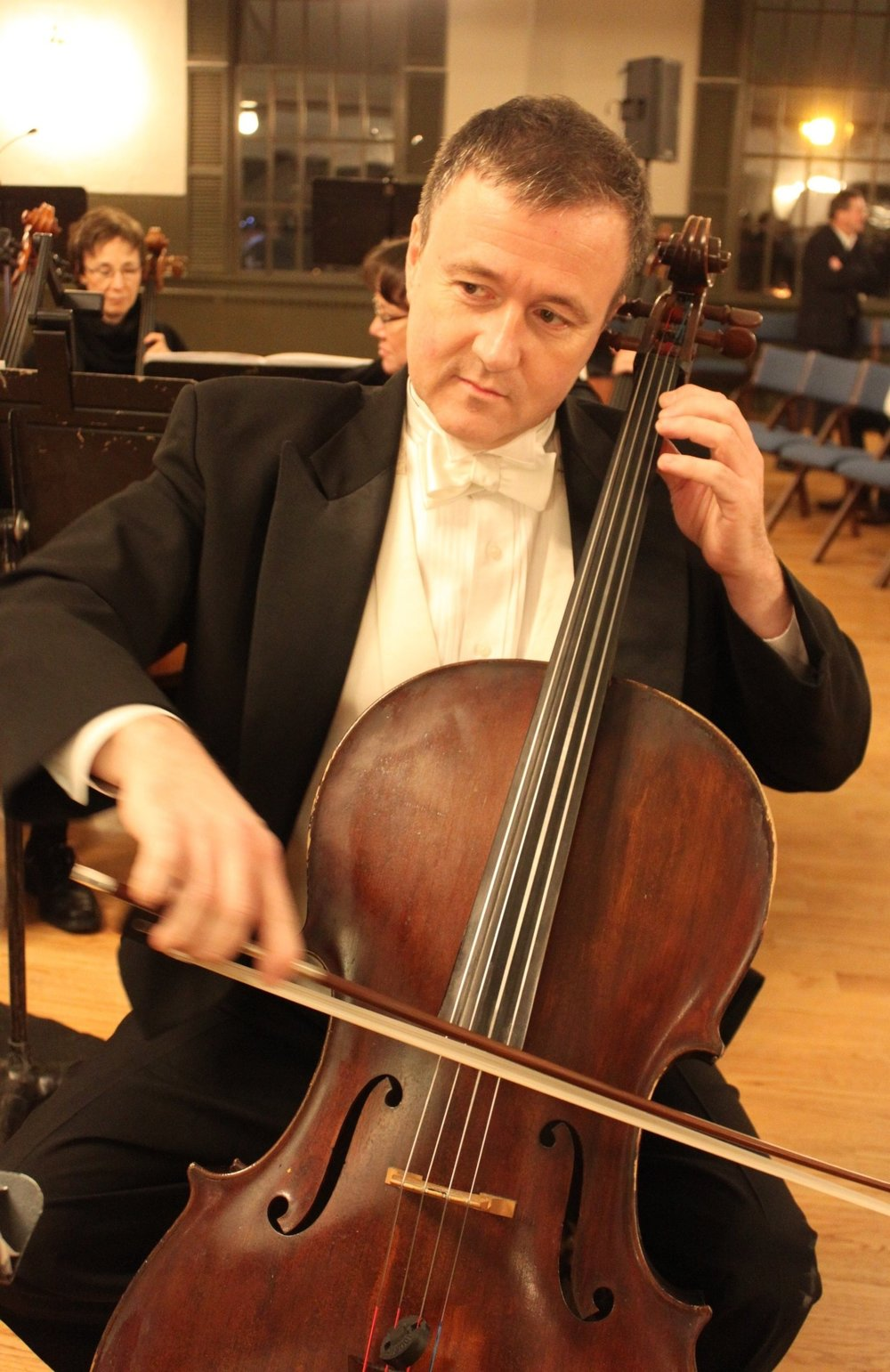 Johann Soults, Cello, has played with the CHSO since its beginning. Come here him in the more intimate setting of a chamber music concert on Saturday, January 27th at Apple Tree Arts, Grafton, MA