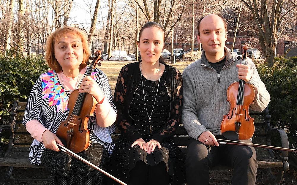 Margaritka, Deyana & Angel Valchinov will be featured on Saturday, April 12 at the Claflin HIll Apple Tree Arts Chamber Music Series in Grafton
