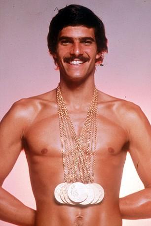 Olympic Swimmer Mark Spitz