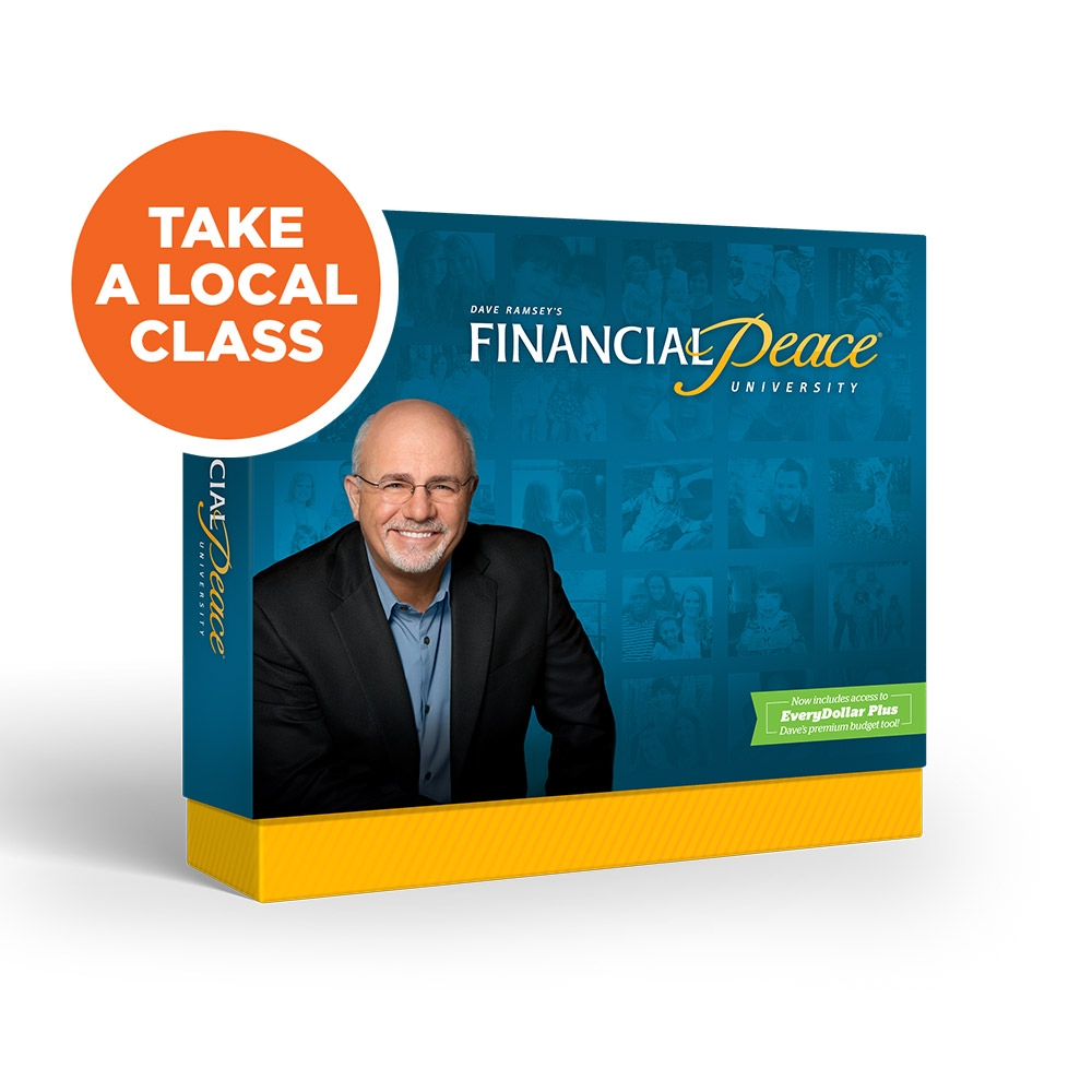 Financial Peace University - Learn Dave Ramsey's seven easy-to-follow Baby Steps to get out of debt and make a plan for your money!Tuesdays @ 6:00pm