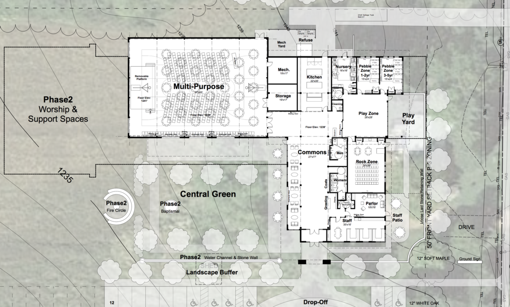 Phase 1 Floor Plan