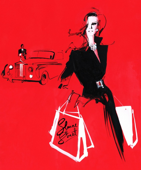 (illustration by David Downton via  source )