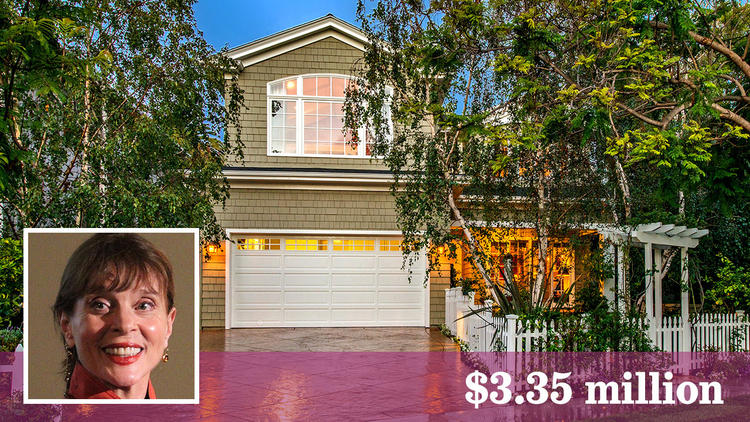 Emmy-winning actress Leigh Taylor-Young sells Pacific Palisades home. (Nick Segal | Inset: Getty Images)