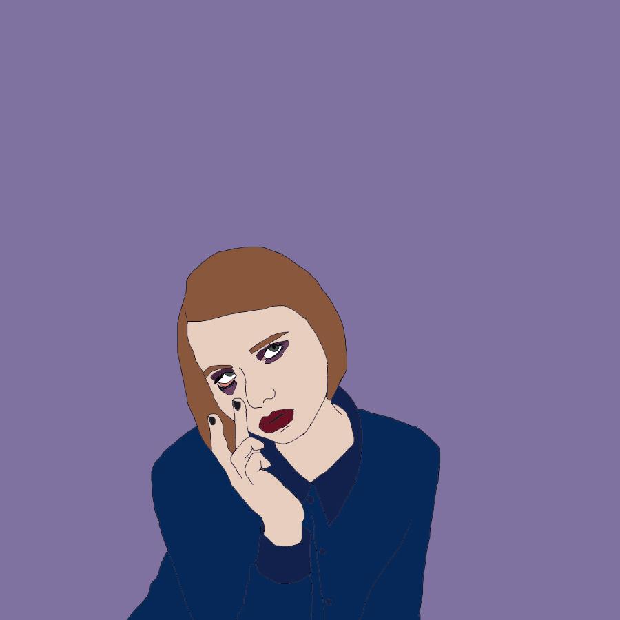 Purple Gal (Based on 'Monochromatic' by Amanda Jasnowski) — May 2017