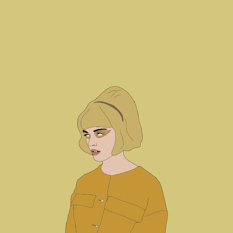Yellow Gal (Based on 'Monochromatic' by Amanda Jasnowski) — May 2017