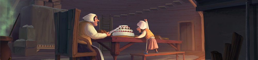 Hansel and Gretel - Personal Visual Development Project
