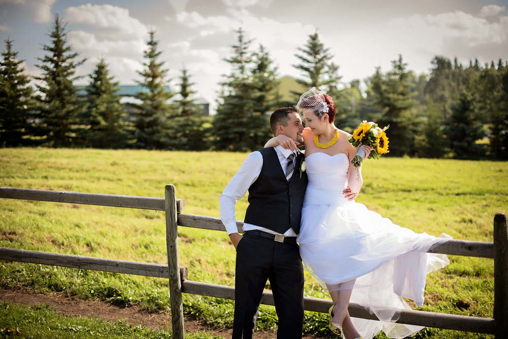 Sherwood park wedding