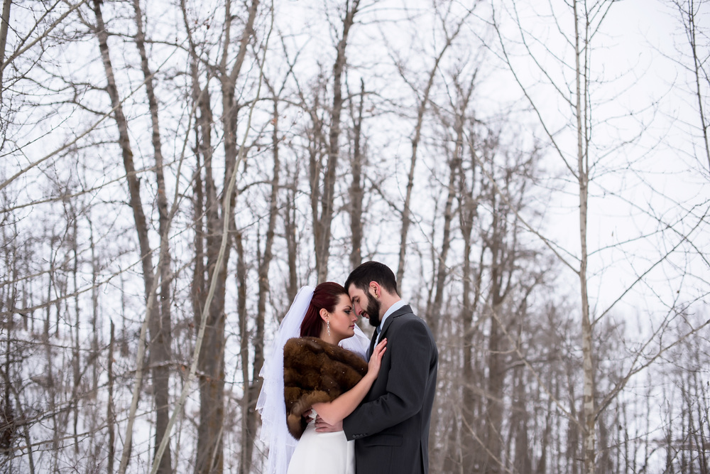 Winter Wedding Edmonton