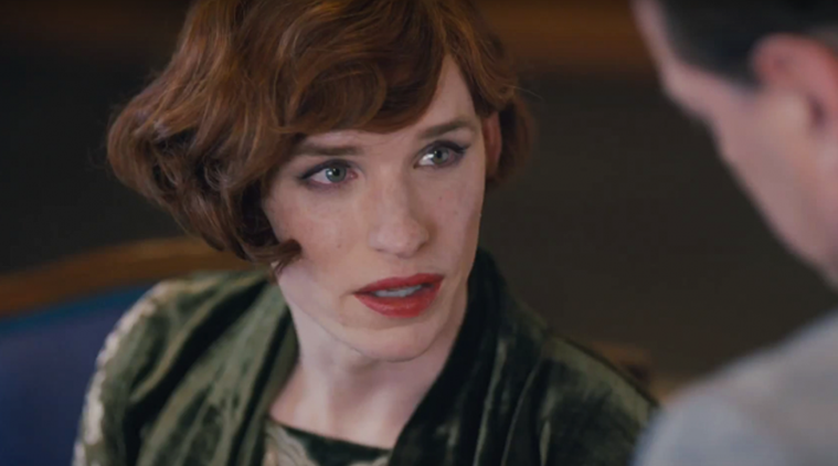 Z filmu Dánská dívka -Eddie Redmayne jako Lili Elbe