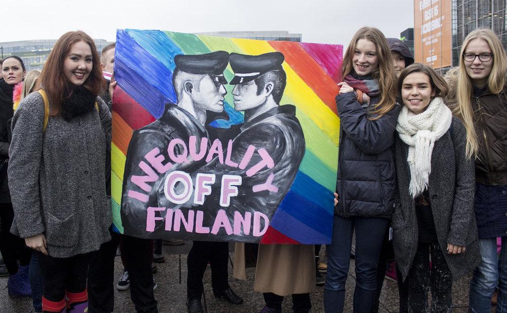 Finsko uzákonilo úplnou rovnost manželství. Zdroj:https://aleksandracoco.tumblr.com/
