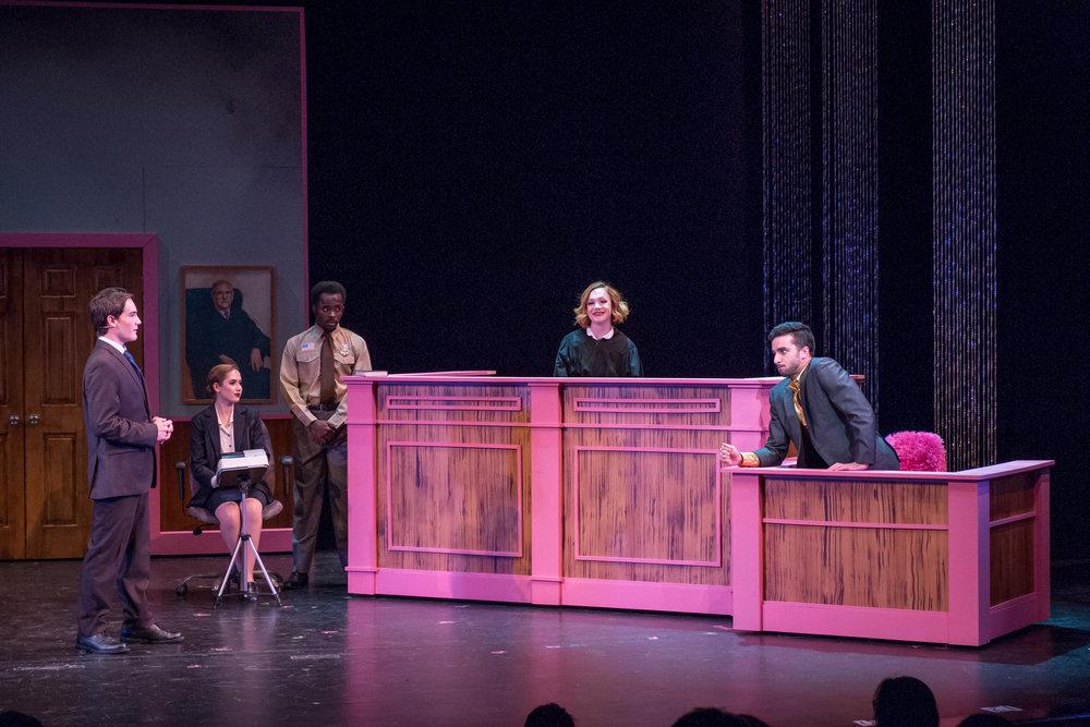 Judge/Witness Stand