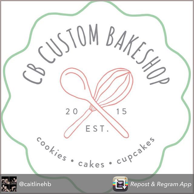 """So grateful for a year full of support and encouragement from my family and friends! 💗Repost from @caitlinehb """"2015 was good to me! In April I left my consulting job to pursue my dream of starting my own business, www.cbcustombakeshop.com. The journey has been exciting, thrilling, and at times, terrifying! The best is yet to come and I can't wait to see what 2016 brings as I open a kitchen and work to expand my business! Follow along at @cbcustombakeshop. Happy New Year! 🍰🍪🍾🎉"""""""