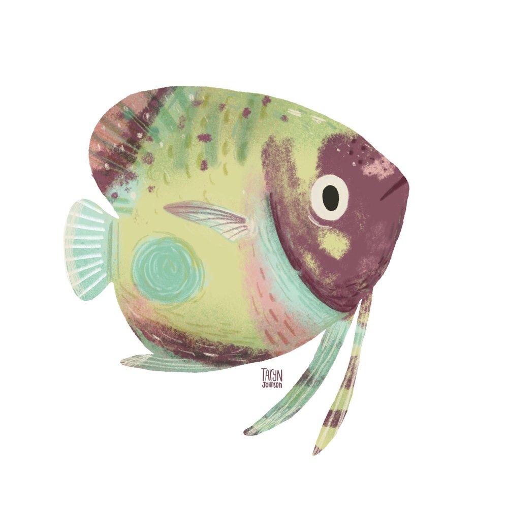 10/100 a springtime fish