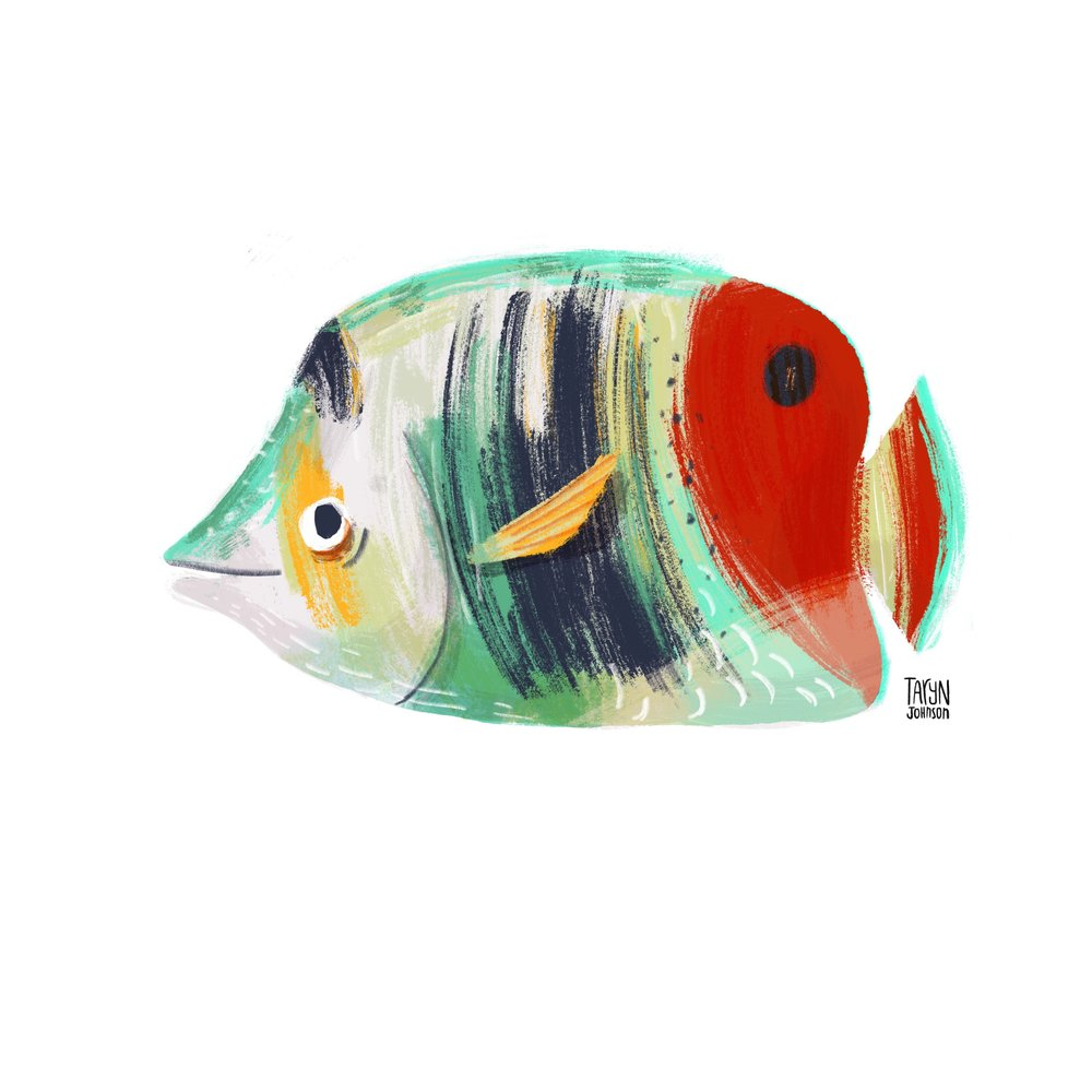 21/100 a butterfly fish