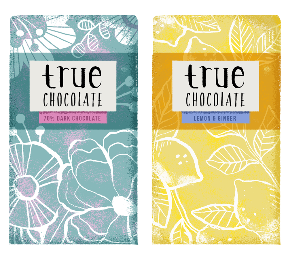 Packaging Design & Illustration // Chocolate