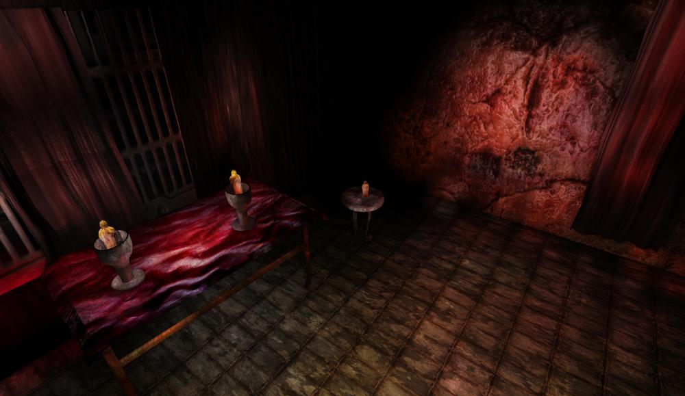 The sacrifice room