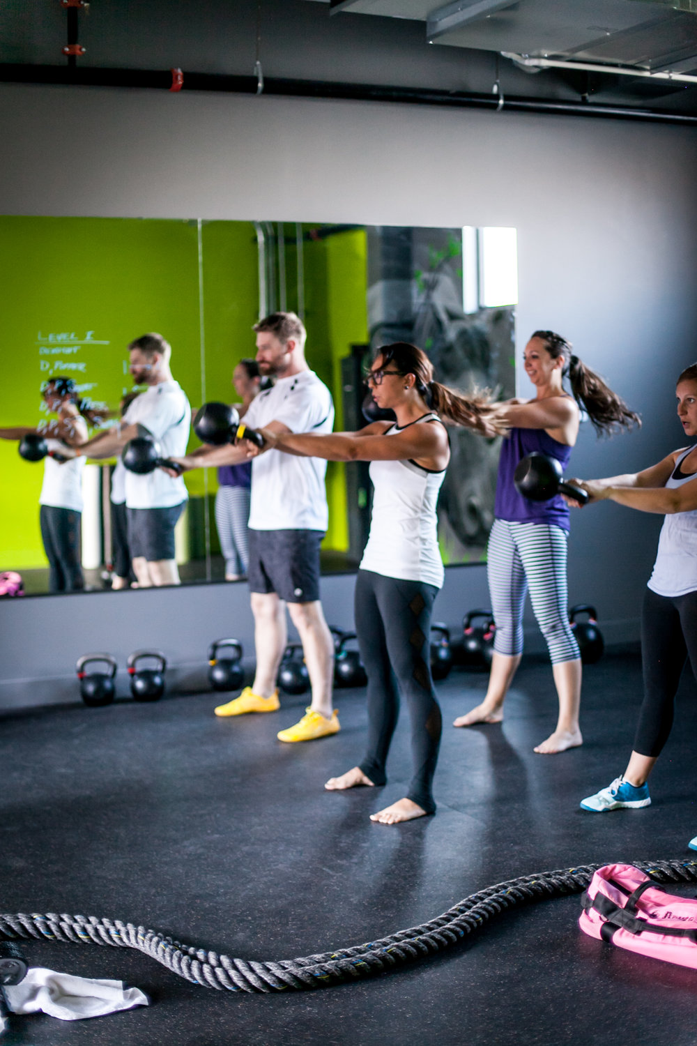 Meet our team! - All Kettlebell coaches are SFG or RKC certified instructors. This means that we value Kettlebell form and technique at the highest level!